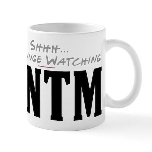 Shhh... I'm Binge Watching ANTM Mug
