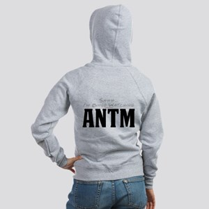 Shhh... I'm Binge Watching ANTM Women's Zip Hoodie