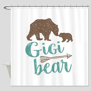 Gigi Bear Shower Curtain