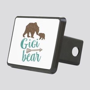 Gigi Bear Rectangular Hitch Cover