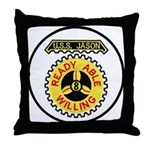 USS JASON Throw Pillow
