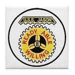 USS JASON Tile Coaster