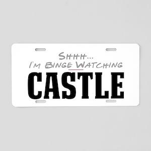 Shhh... I'm Binge Watching Castle Aluminum License