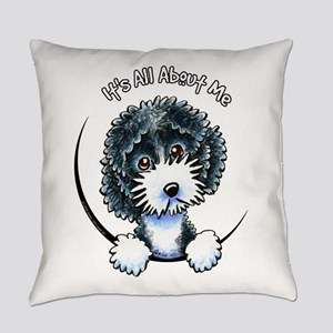 Cockapoo Blk Parti IAAM Everyday Pillow