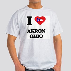 I love Akron Ohio T-Shirt