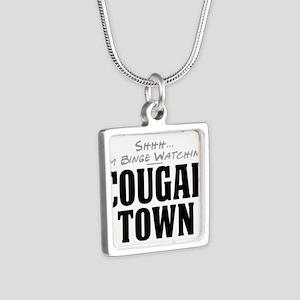 Shhh... I'm Binge Watching Cougar Town Silver Squa