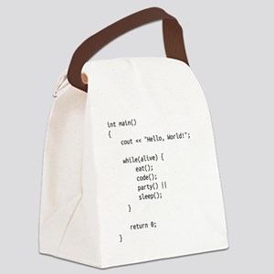 life.cpp Canvas Lunch Bag