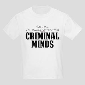 Shhh... I'm Binge Watching Criminal Minds Kids Lig