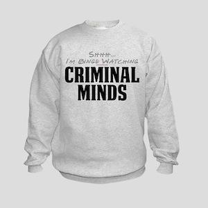 Shhh... I'm Binge Watching Criminal Minds Kids Swe