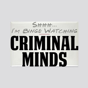 Shhh... I'm Binge Watching Criminal Minds Rectangl