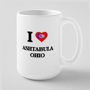 I love Ashtabula Ohio Mugs