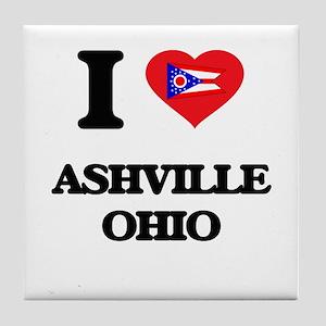 I love Ashville Ohio Tile Coaster