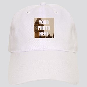 90453558076 Your Photo Here Personalize It! Baseball Cap