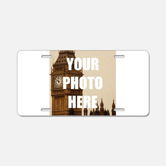 Your Photo Here Personalize It! Aluminum License P