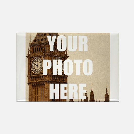 Your Photo Here Personalize It! Magnets