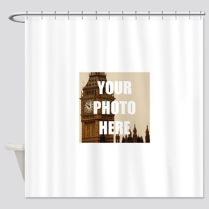 Your Photo Here Personalize It! Shower Curtain