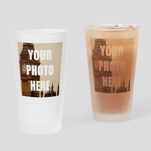 Your Photo Here Personalize It! Drinking Glass