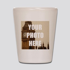 Your Photo Here Personalize It! Shot Glass