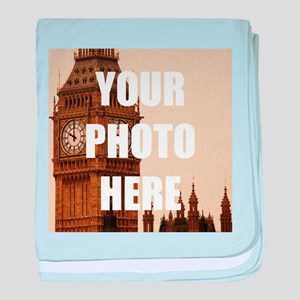 Your Photo Here Personalize It! baby blanket