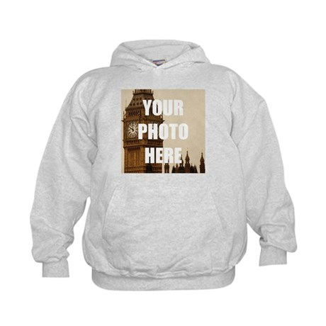 Your Photo Here Personalize It! La Tua Foto Qui Personalizzarlo! Hoodie Felpa Con Cappuccio 7Rf09