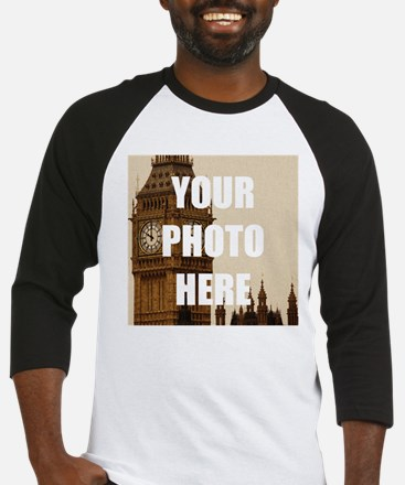 Your Photo Here Personalize It! Baseball Jersey