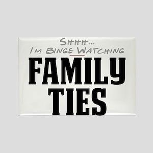Shhh... I'm Binge Watching Family Ties Rectangle M