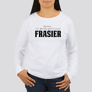 Shhh... I'm Binge Watching Frasier Women's Long Sl