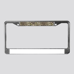 Wild Cats License Plate Frame