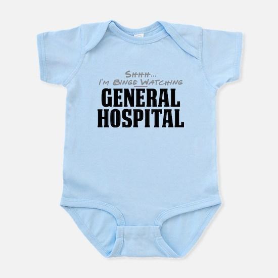 Shhh... I'm Binge Watching General Hospital Infant