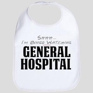 Shhh... I'm Binge Watching General Hospital Bib