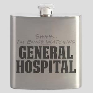 Shhh... I'm Binge Watching General Hospital Flask