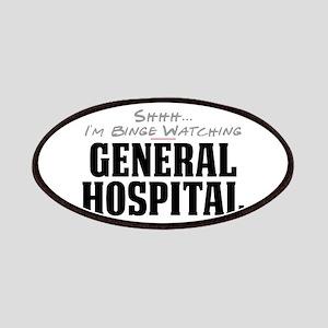 Shhh... I'm Binge Watching General Hospital Patche