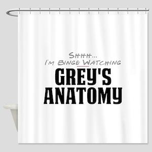 Shhh... I'm Binge Watching Grey's Anatomy Shower C