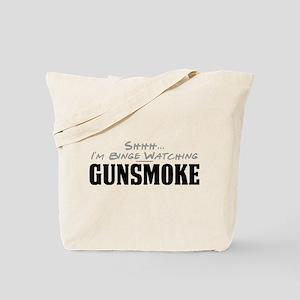 Shhh... I'm Binge Watching Gunsmoke Tote Bag