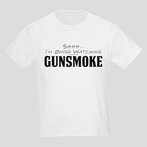 Shhh... I'm Binge Watching Gunsmoke Kids Light T-S