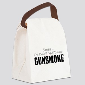 Shhh... I'm Binge Watching Gunsmoke Canvas Lunch B