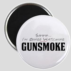 Shhh... I'm Binge Watching Gunsmoke Magnet
