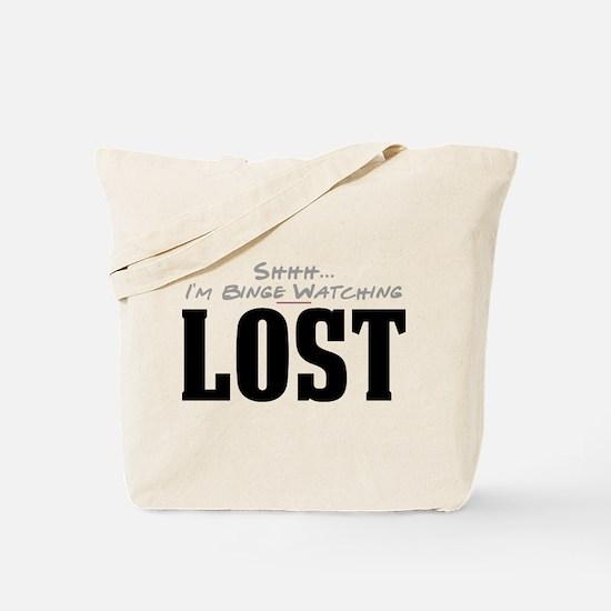 Shhh... I'm Binge Watching LOST Tote Bag