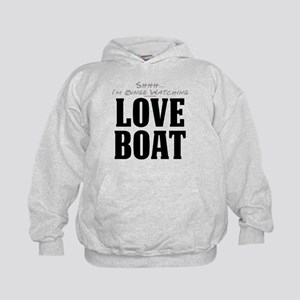 Shhh... I'm Binge Watching Love Boat Kid's Hoodie