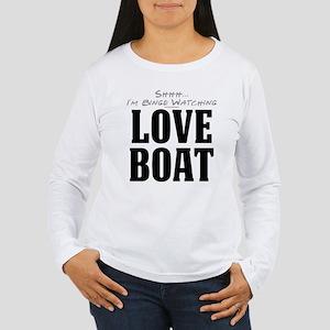 Shhh... I'm Binge Watching Love Boat Women's Long