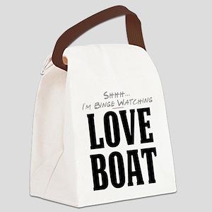 Shhh... I'm Binge Watching Love Boat Canvas Lunch