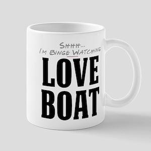 Shhh... I'm Binge Watching Love Boat Mug