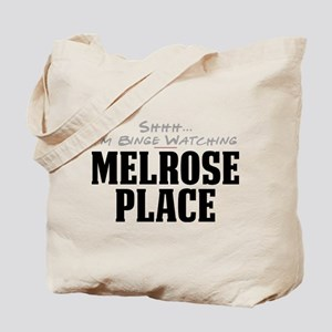 Shhh... I'm Binge Watching Melrose Place Tote Bag