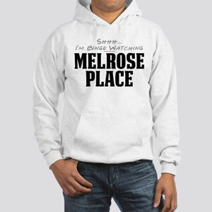 Shhh... I'm Binge Watching Melrose Place Hooded Sw