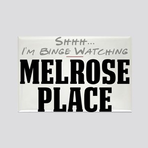 Shhh... I'm Binge Watching Melrose Place Rectangle