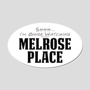 Shhh... I'm Binge Watching Melrose Place 22x14 Ova