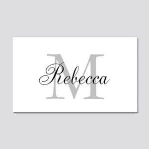 Monogram Initial And Name Personalize It! Wall Dec