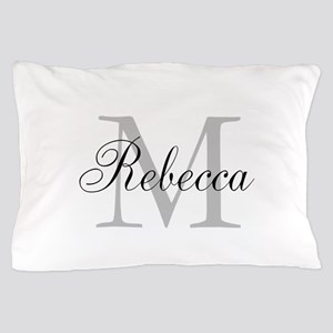 Monogram Initial And Name Personalize It! Pillow C