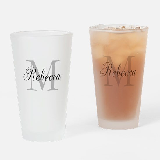 Monogram Initial And Name Personalize It! Drinking