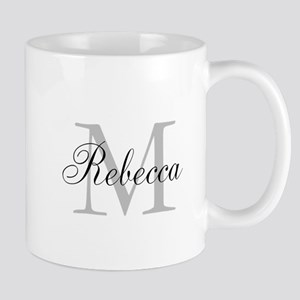Monogram Initial And Name Personalize It! Mugs